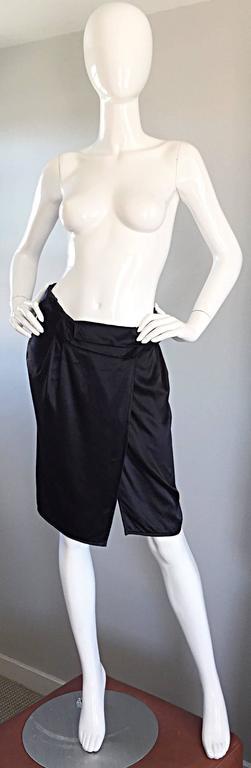 8113fbbe9f1e Miu Miu Logo Wraped Skirt