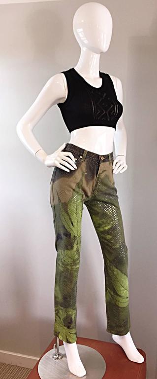 Jean Paul Gaultier Important Vintage Black Hand Crochet Crop Top Bodycon Tank  8