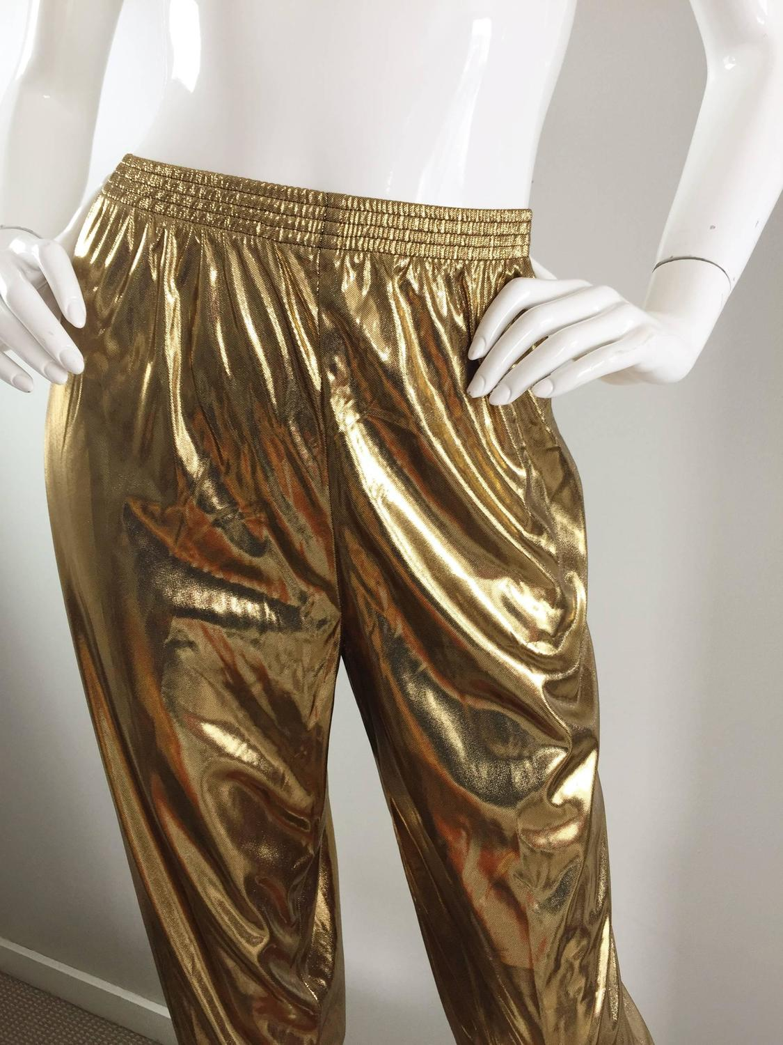 Find gold lame pants at ShopStyle. Shop the latest collection of gold lame pants from the most popular stores - all in one place.
