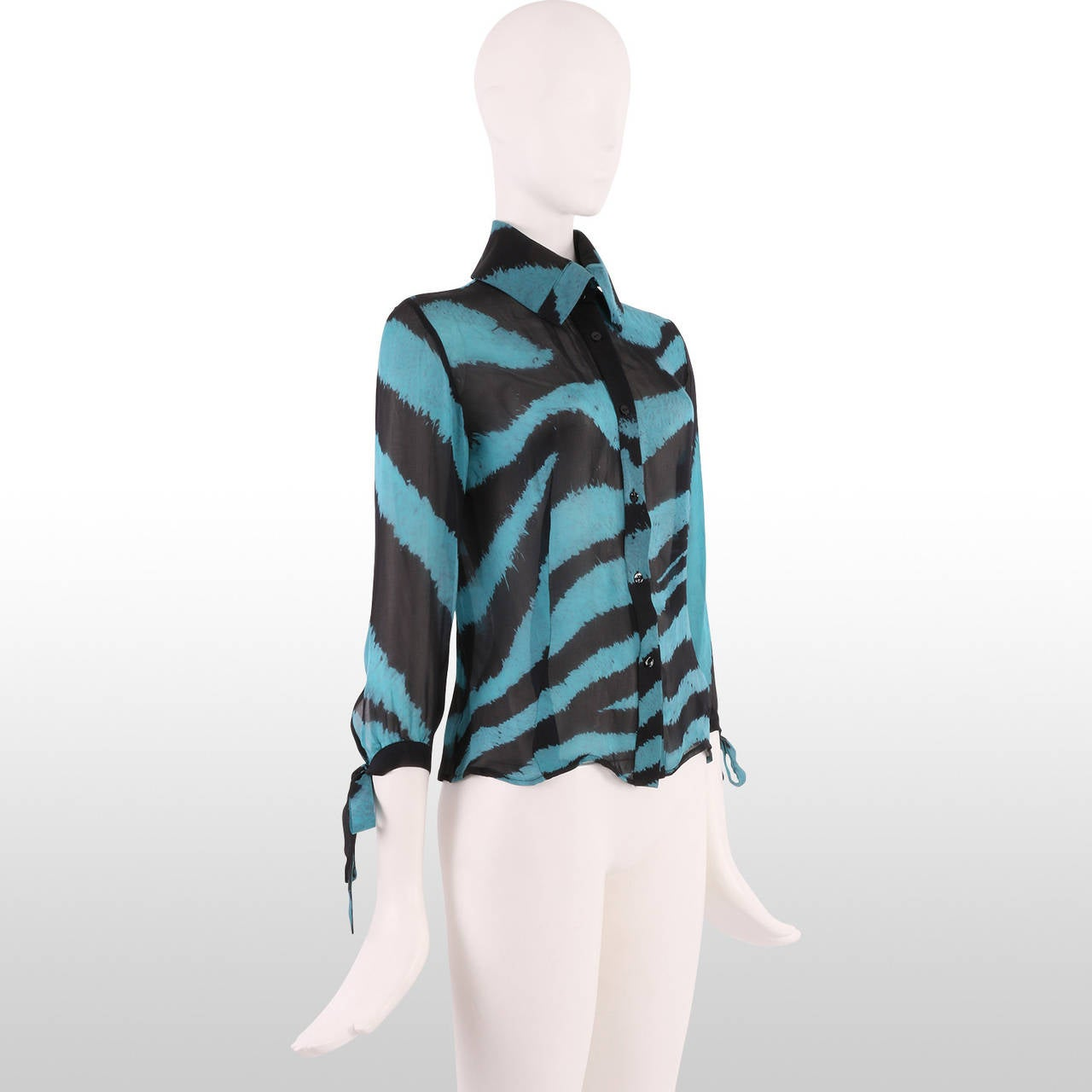 How To Wear Zebra Print Blouse 120