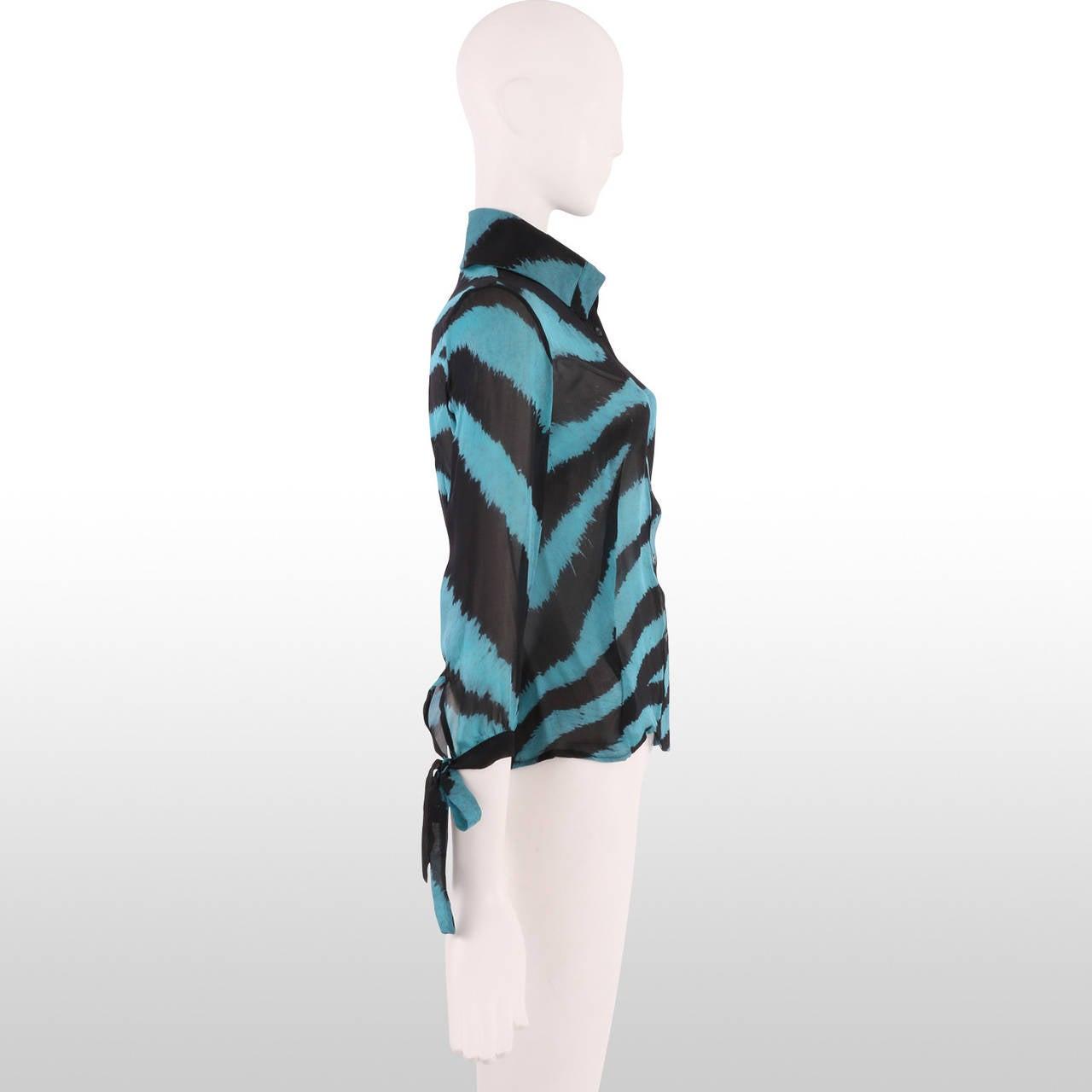 Zebra Blouse 55