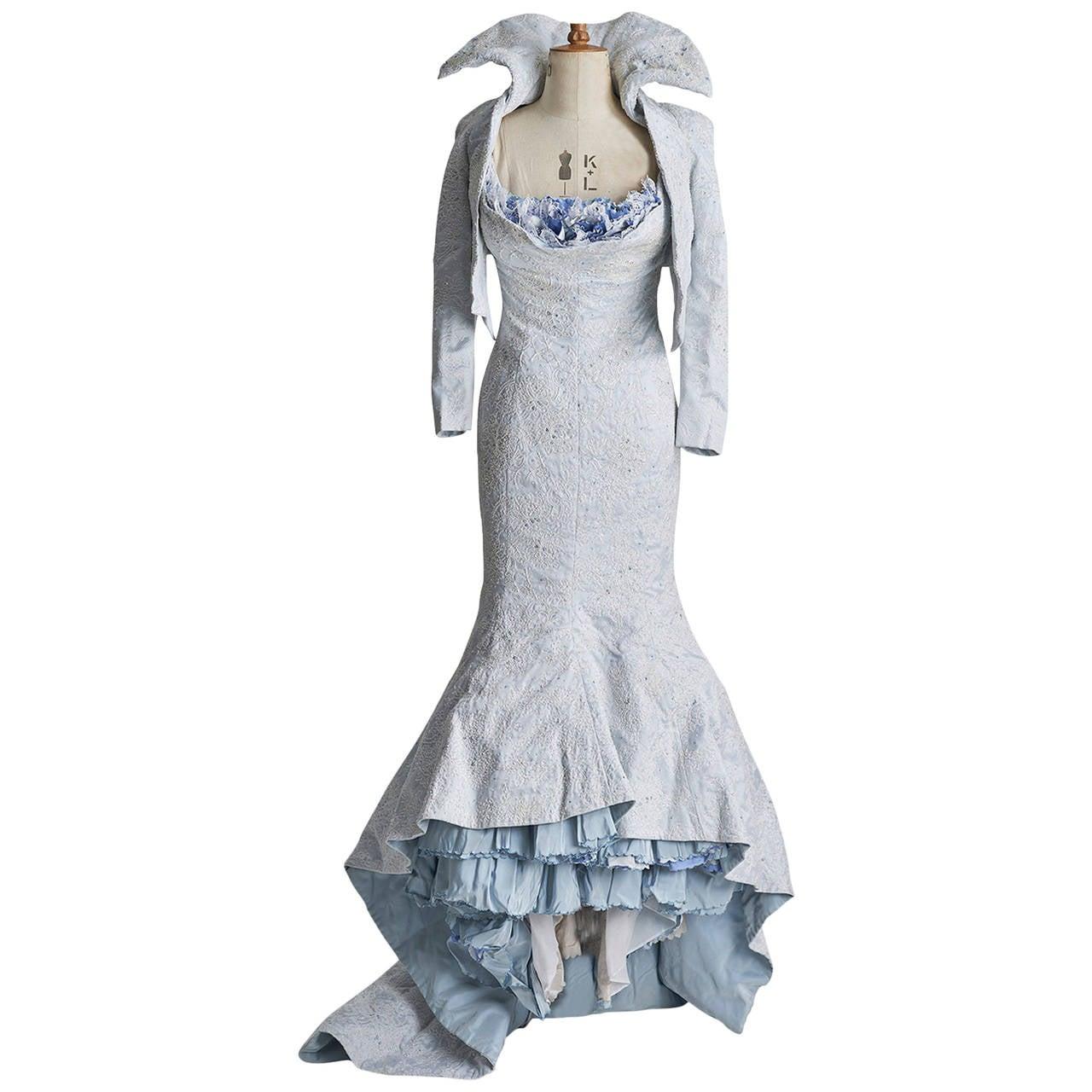 Vivienne Westwood Custom Made Wedding Gown At 1stdibs