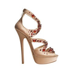 Jimmy Choo Ruby Rhinestone Custom Made Shoes