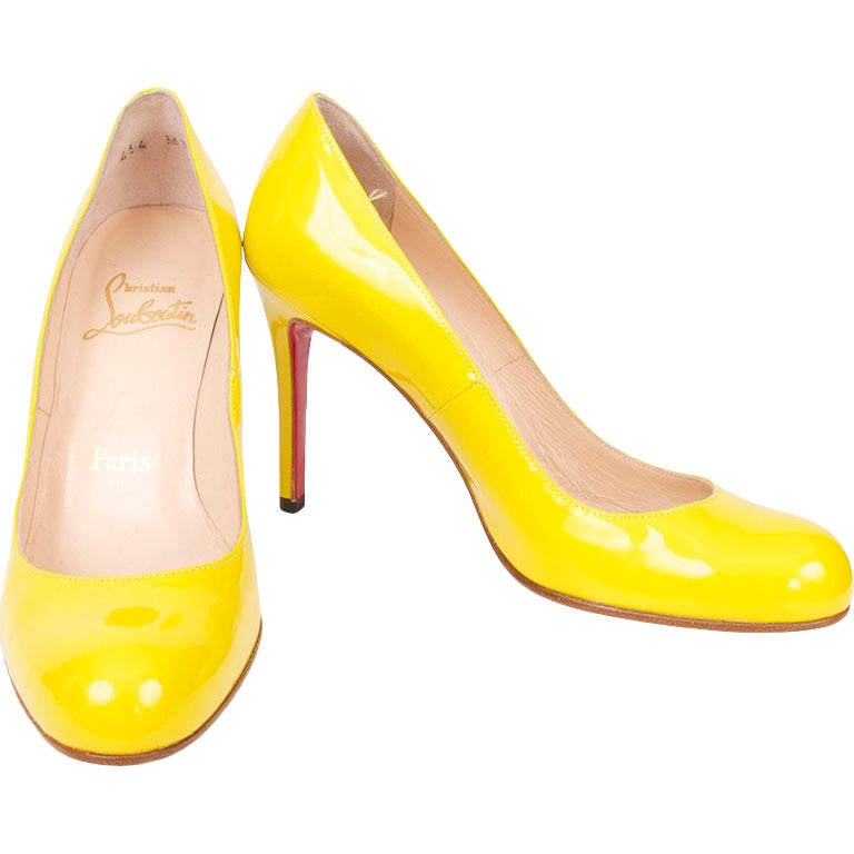 Peony Design ? christian louboutin fluro heels