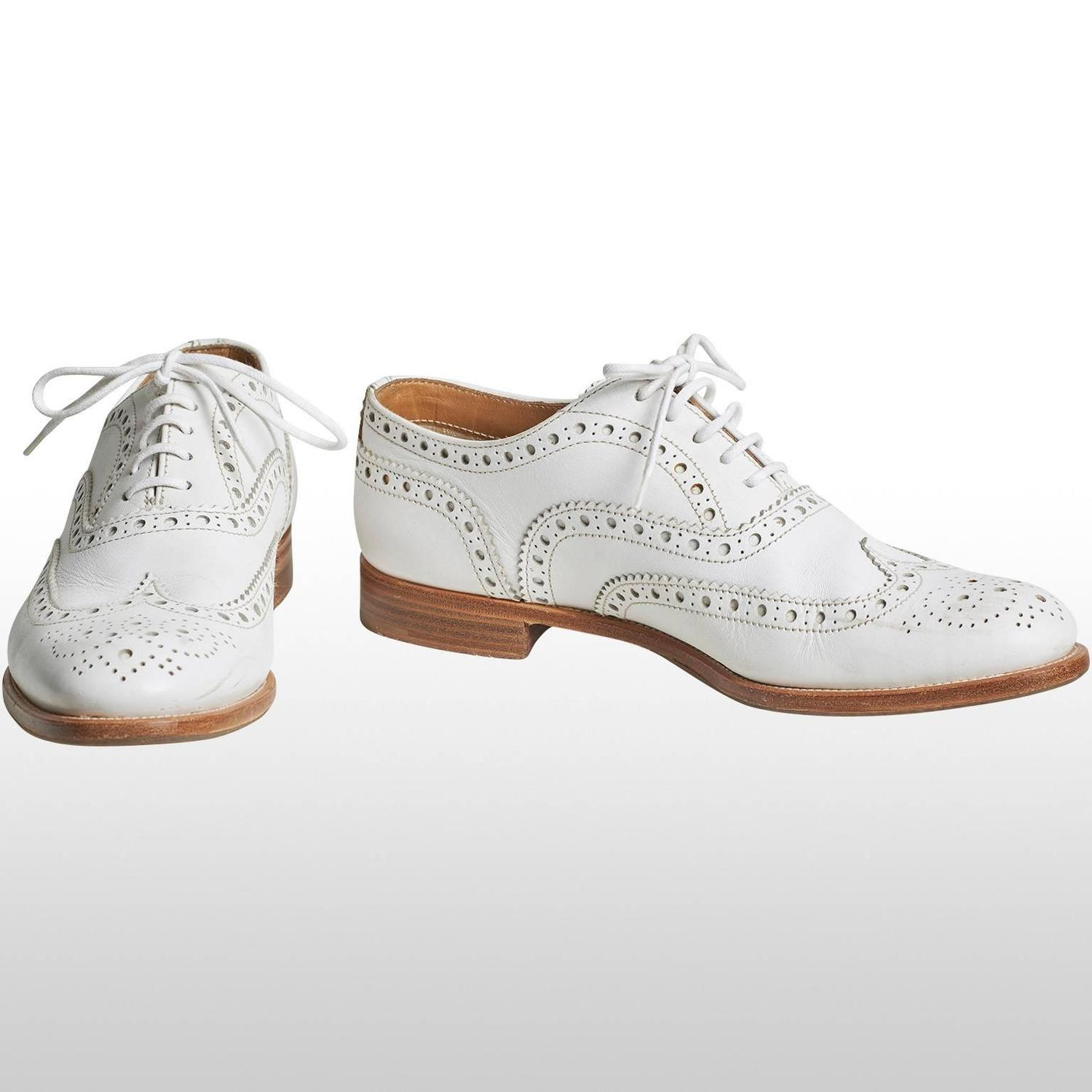 The Brogue (derived from the Gaelic bróg (Irish), bròg (Scottish)