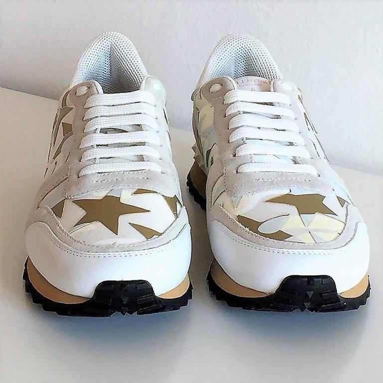 New Valentino Garavani Sneaker Starstudded Shoes 2