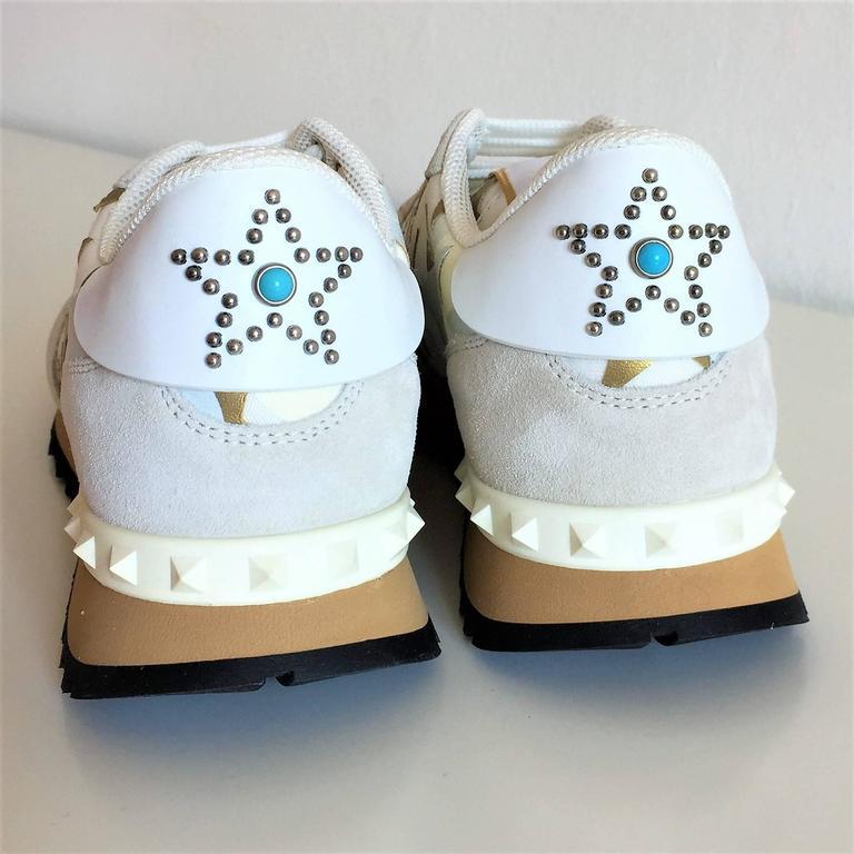 New Valentino Garavani Sneaker Starstudded Shoes 3