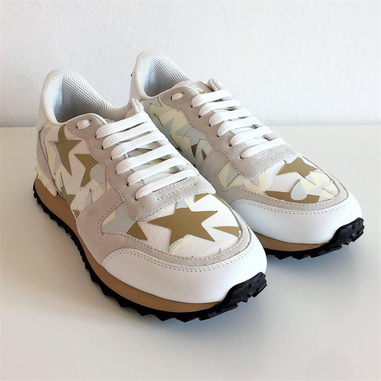 new valentino garavani sneaker starstudded shoes for sale at 1stdibs. Black Bedroom Furniture Sets. Home Design Ideas