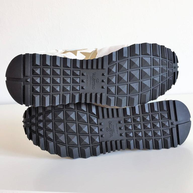 New Valentino Garavani Sneaker Starstudded Shoes 10