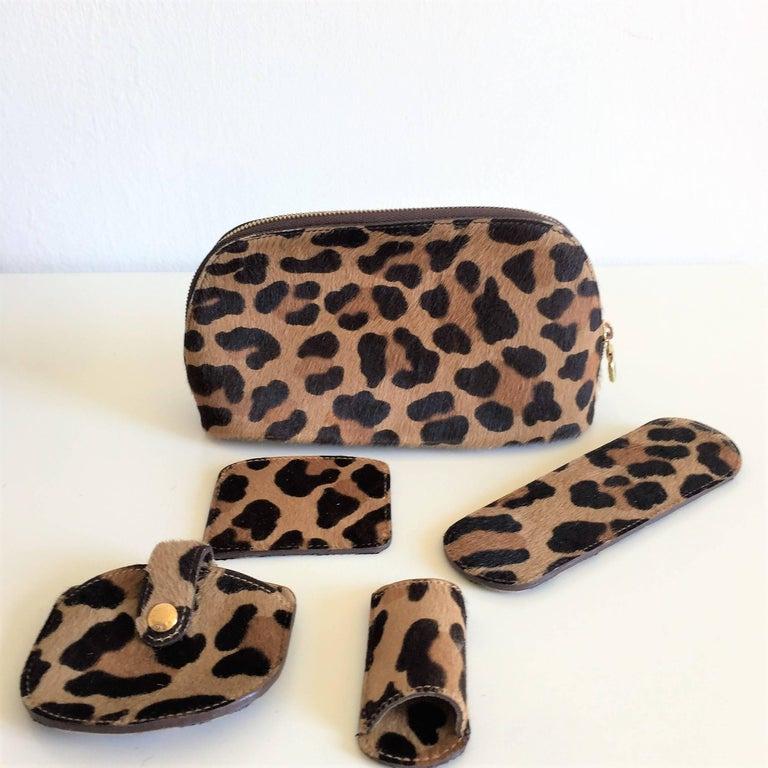 LOUIS VUITTON  Leopard Alma Hand Bag by Azzedine Alaïa 3