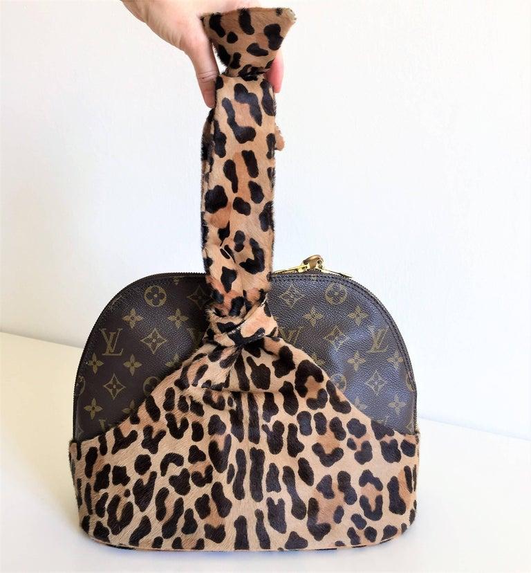 LOUIS VUITTON  Leopard Alma Hand Bag by Azzedine Alaïa 2