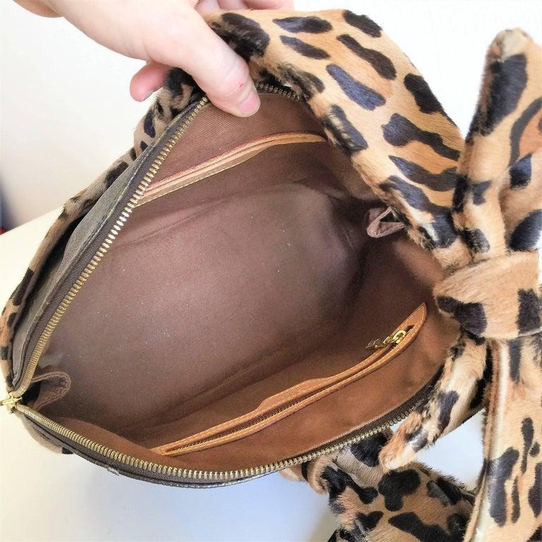 LOUIS VUITTON  Leopard Alma Hand Bag by Azzedine Alaïa 8