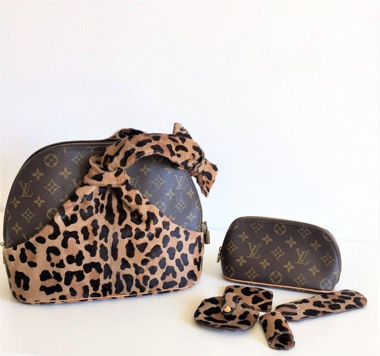 LOUIS VUITTON  Leopard Alma Hand Bag by Azzedine Alaïa 5