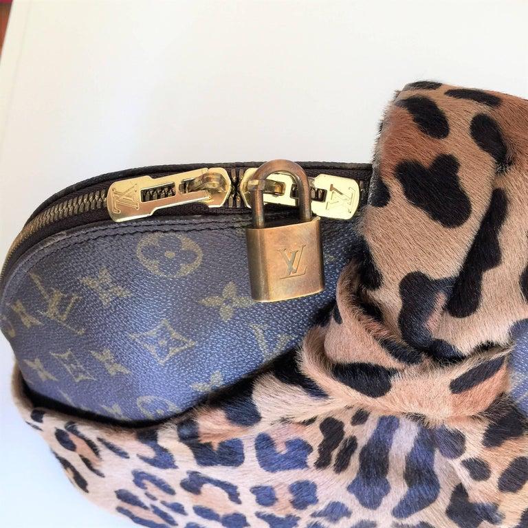 LOUIS VUITTON  Leopard Alma Hand Bag by Azzedine Alaïa 9