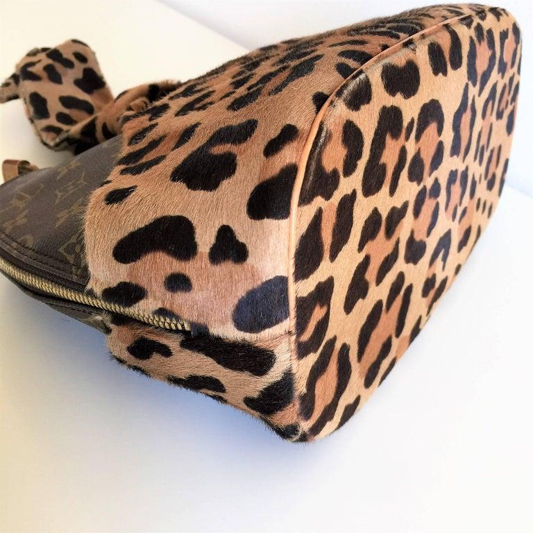 LOUIS VUITTON  Leopard Alma Hand Bag by Azzedine Alaïa 10