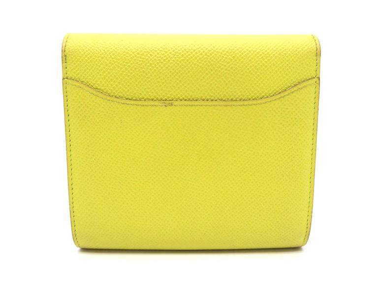 hermes kelly wallet yellow - photo #35