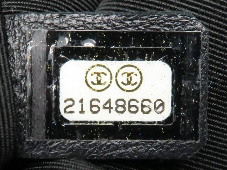 Chanel Dark Green Calfskin Leather Backpack 5
