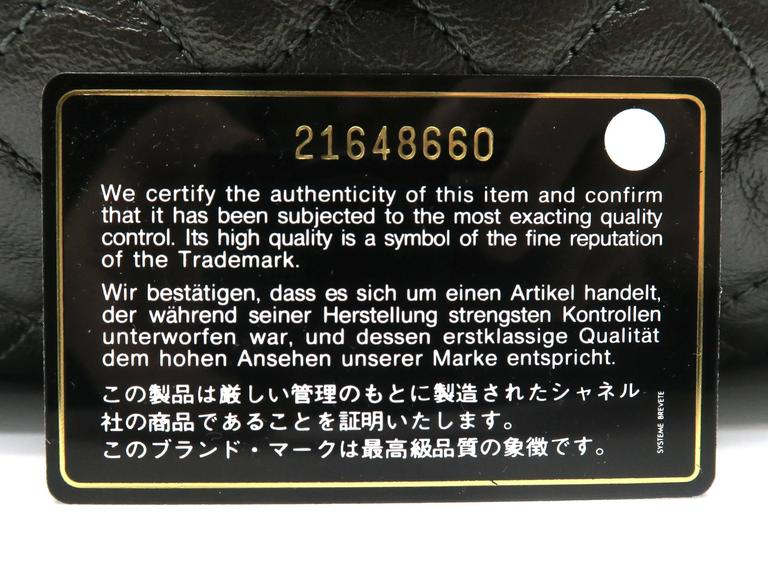 Chanel Dark Green Calfskin Leather Backpack 9