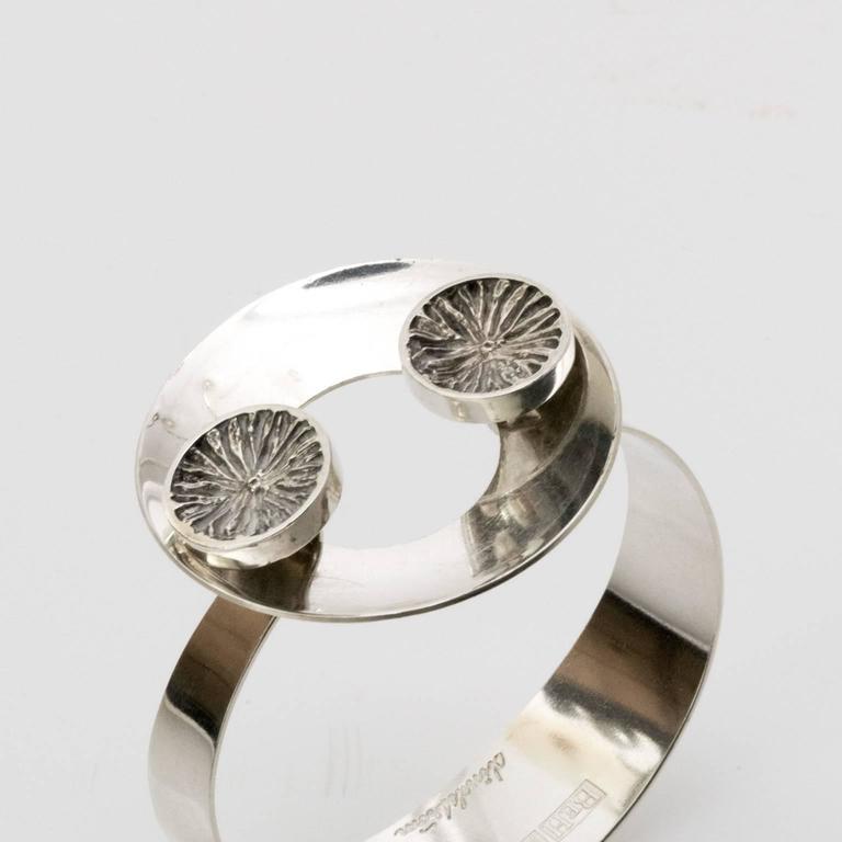 Scandinavian Modern Swedish bracelet by Åke Lindström, 1971 For Sale 1