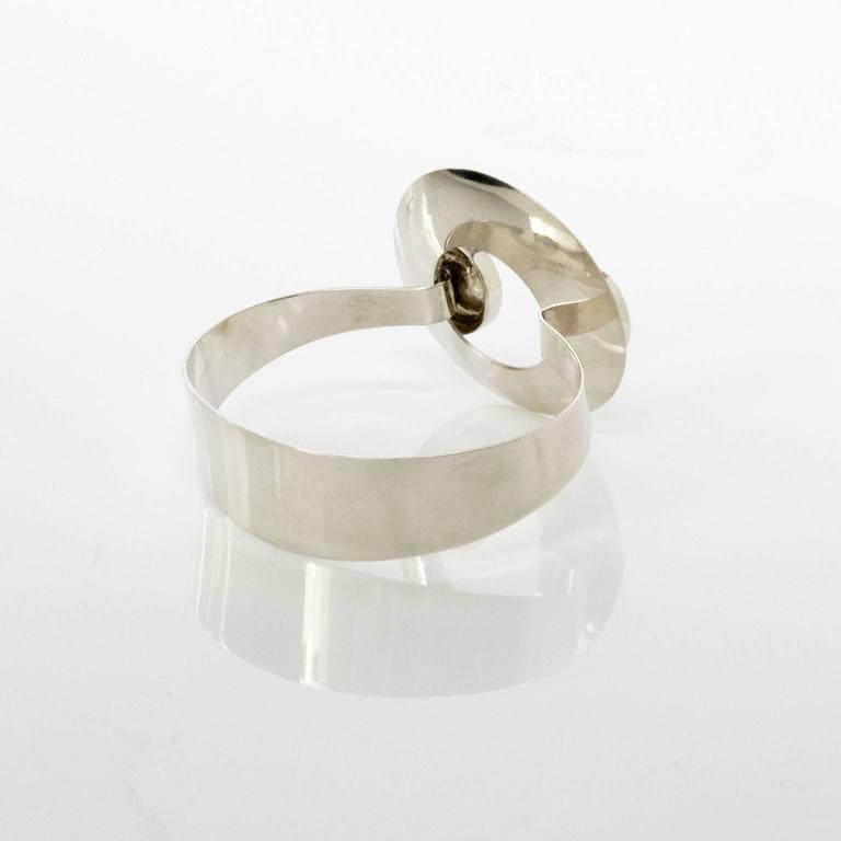 Scandinavian Modern Swedish bracelet by Åke Lindström, 1971 For Sale 2
