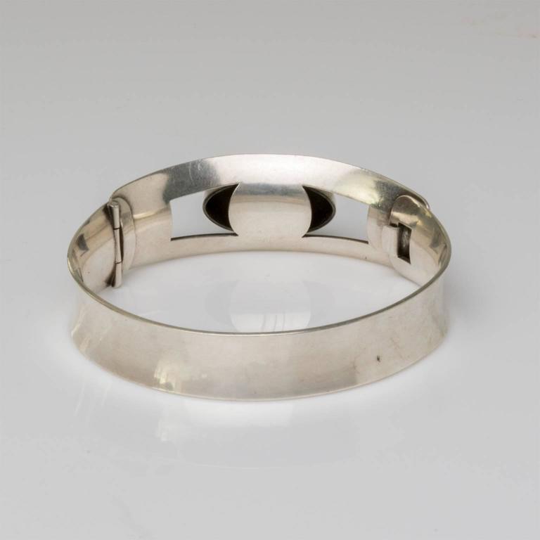 Women's Scandinavian Modern Silver bracelet