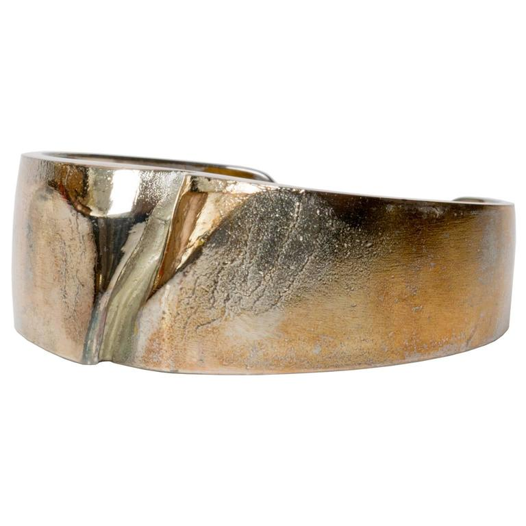 Björn Weckström, Lapponia Silver bracelet 1971, Finland For Sale