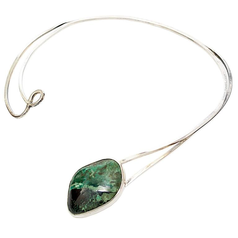 christy natural stone art nature zimmer green necklace jade products