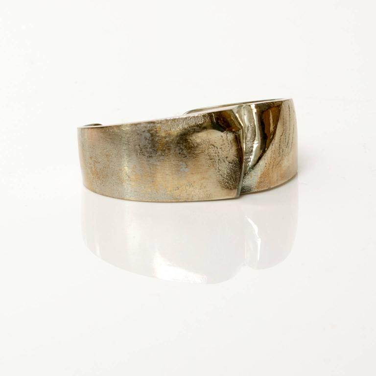 Modernist Björn Weckström, Lapponia Silver bracelet 1971, Finland For Sale