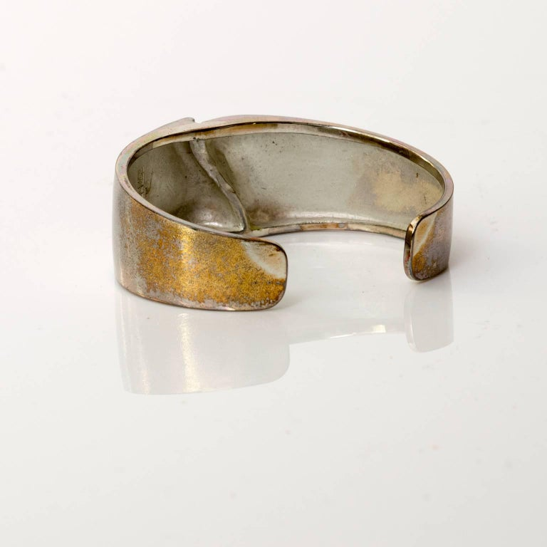Björn Weckström, Lapponia Silver bracelet 1971, Finland In Excellent Condition For Sale In New York, NY