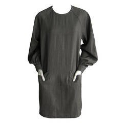 GIVENCHY Wool Shift Dress with Pocket Detail