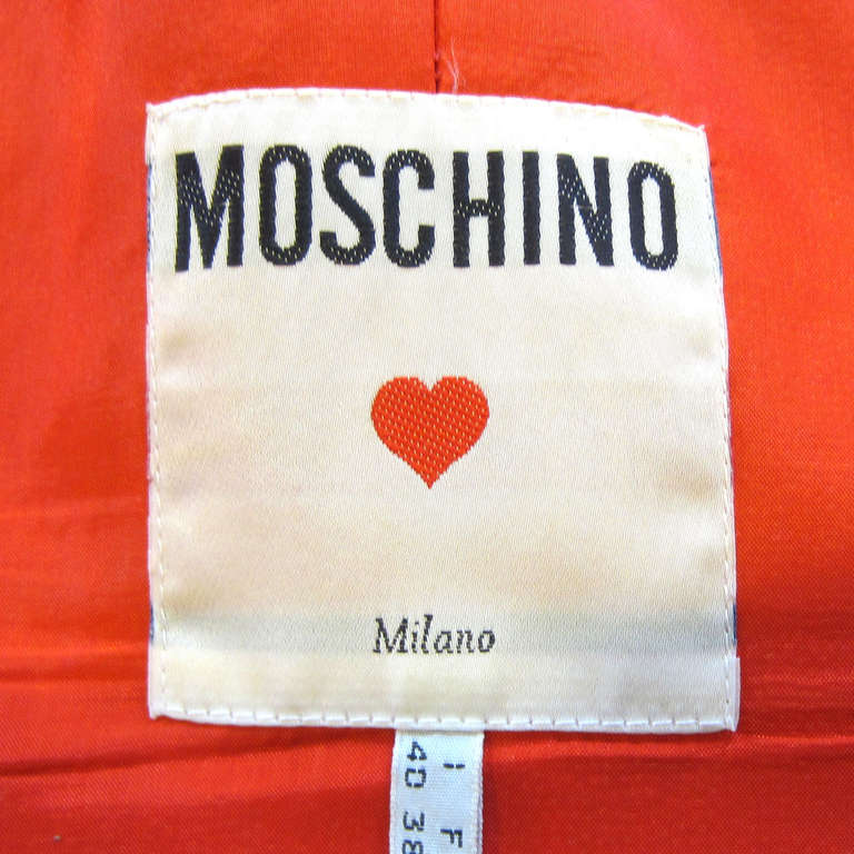 MOSCHINO Polka Dot Bustier Top For Sale 1