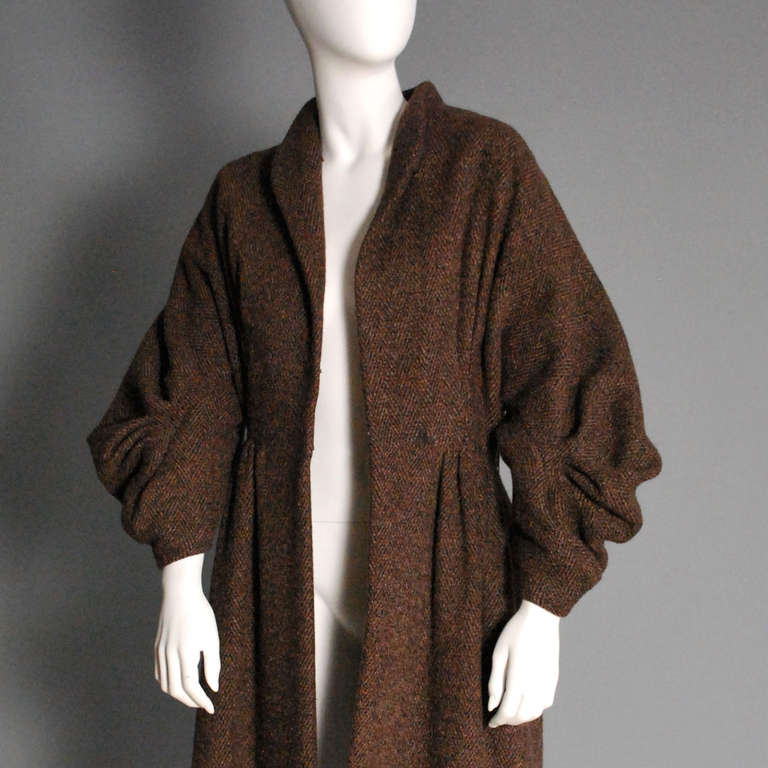 PAULINE TRIGERE Brown Wool Coat 3