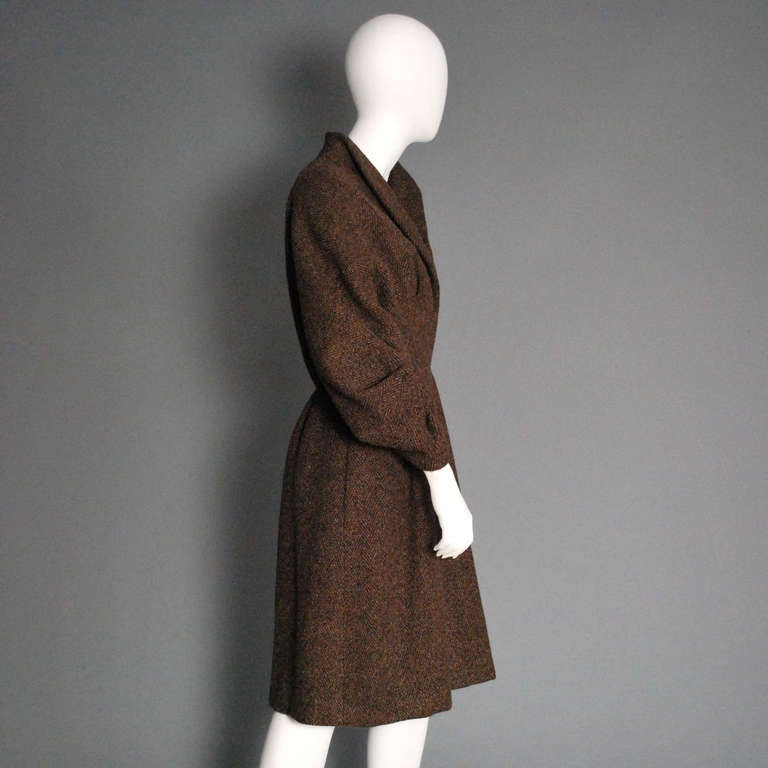 PAULINE TRIGERE Brown Wool Coat 2