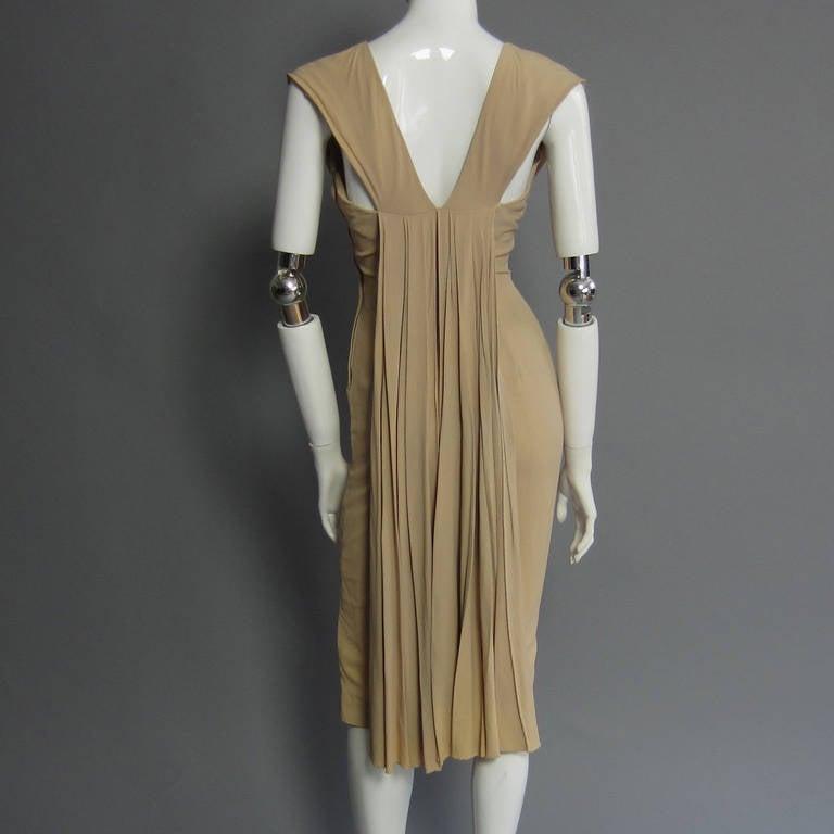 1940s Silk Crepe Cocktail Dress 5