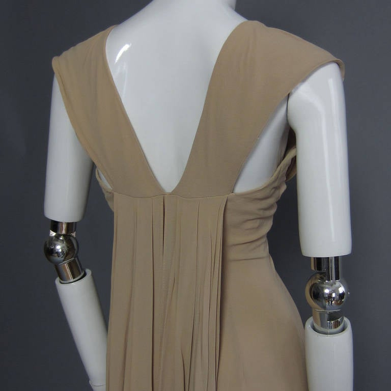1940s Silk Crepe Cocktail Dress For Sale 1