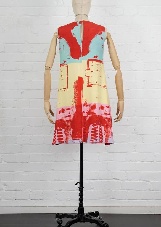 90's STEPHEN SPROUSE Andy Warhol graphic print dress 4