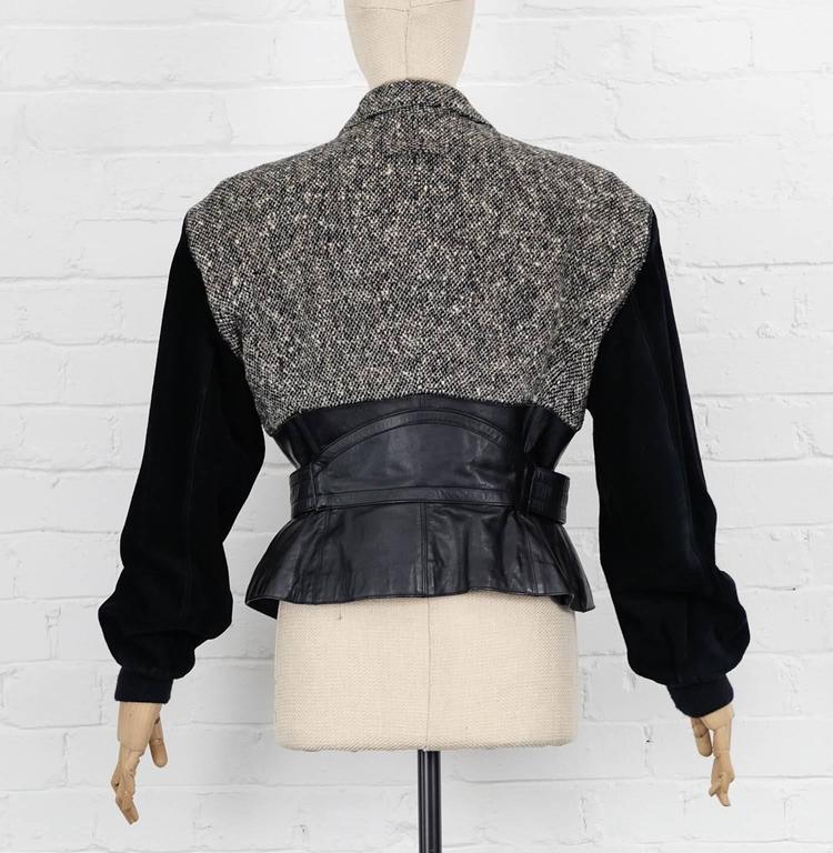 'Forbidden Gaultier' 1987/88 JEAN PAUL GAULTIER biker jacket In Excellent Condition For Sale In London, GB