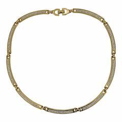 Christian Dior 1980s Rhinestone Vintage Necklace