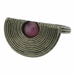 Balenciaga 1990s Pink Cabochon Vintage Ring