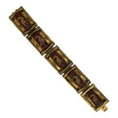 Jean Painlevé 1930s Seahorse Design Vintage Bracelet