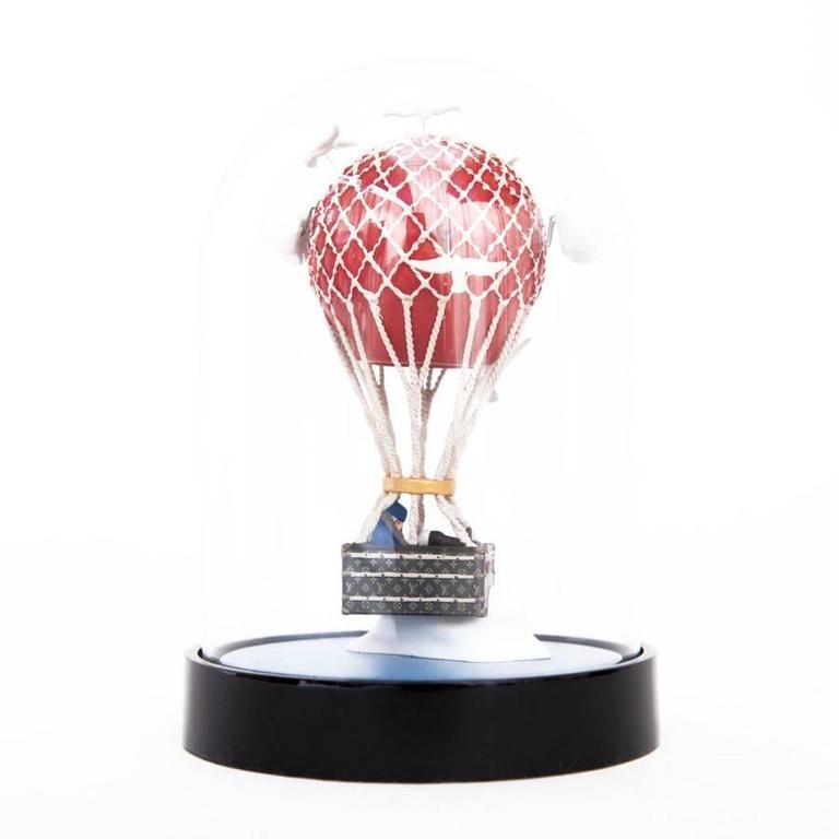 Gray LOUIS VUITTON Hot Air Balloon Snow Globe VIP For Sale
