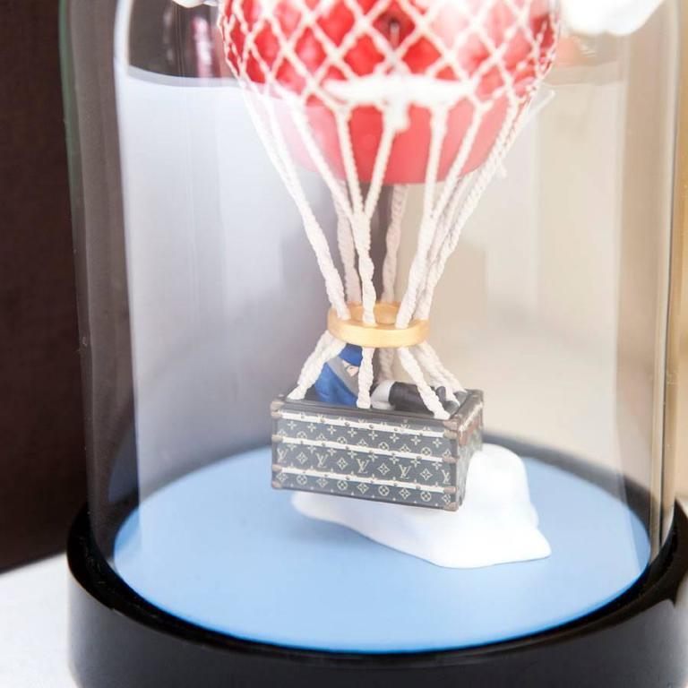 Women's or Men's LOUIS VUITTON Hot Air Balloon Snow Globe VIP For Sale