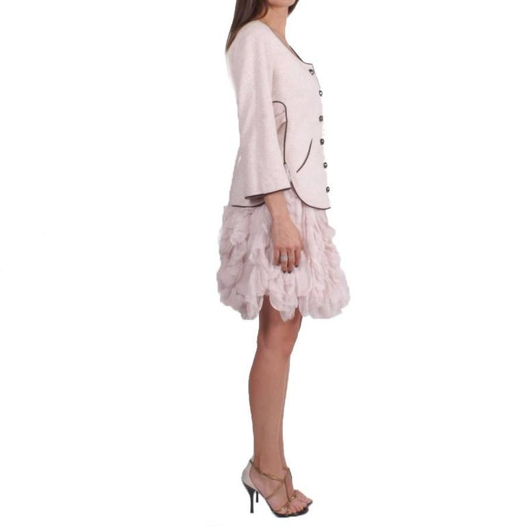 Beige Chanel Runway « Les Fonds Marins »2012 Skirt Suit For Sale