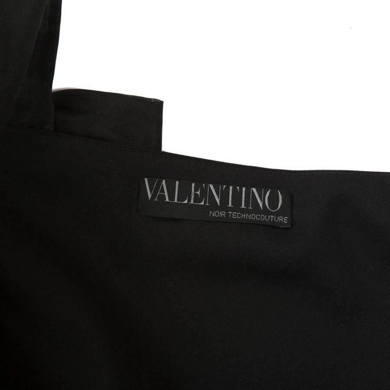 Valentino Black Cocktail Dress 40IT 9