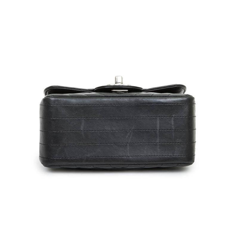 Mini Chanel Quilted Black Lamb Leather Shoulder Bag 2