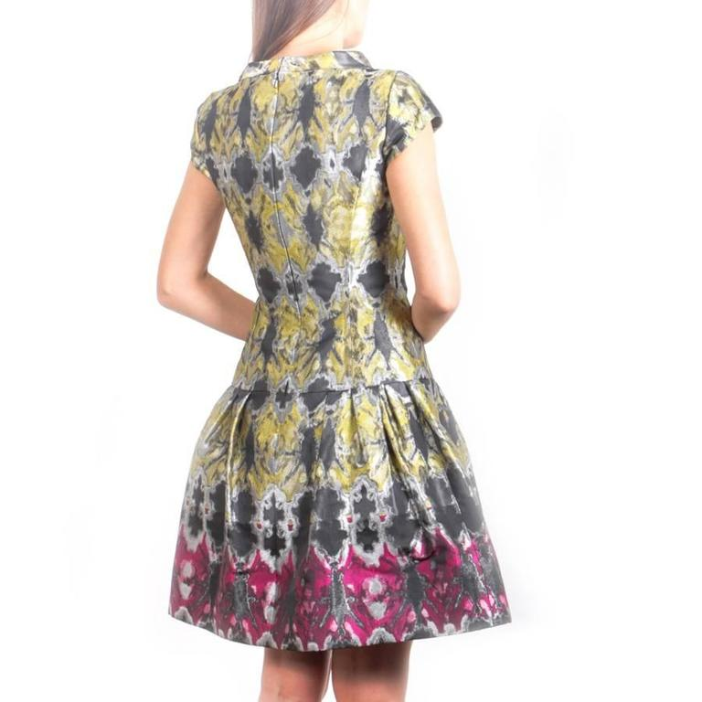 Oscar De La Renta Cocktail Dress Size 4US 3