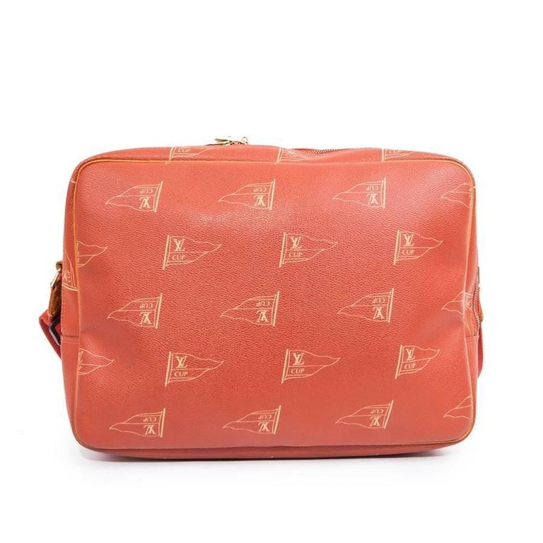 Orange America's Cup Louis Vuitton Bag For Sale