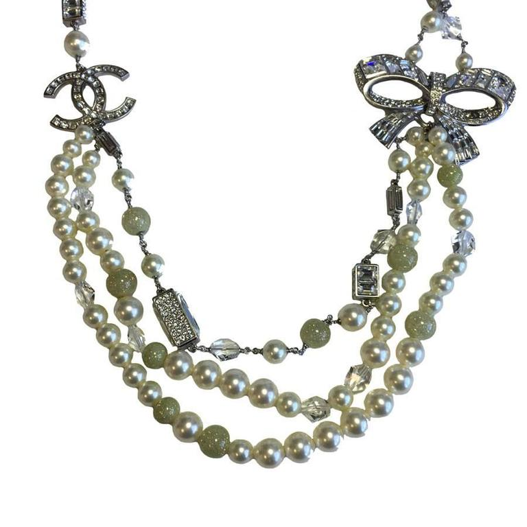 Imposing and Sublime CHANEL Necklace In Excellent Condition For Sale In Paris, FR