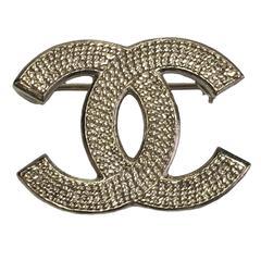 Chanel Brooch Gilt Metal