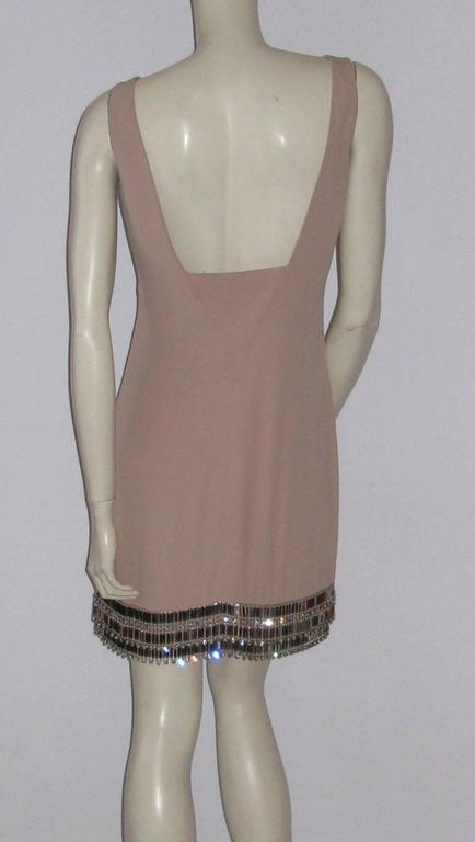 AZZARO Size 38 FR Short Pink Dress In Excellent Condition For Sale In Paris, FR